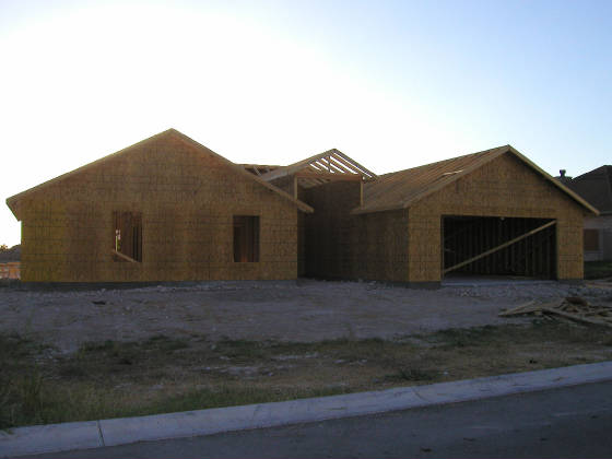 Front of the house - July 24, 2005