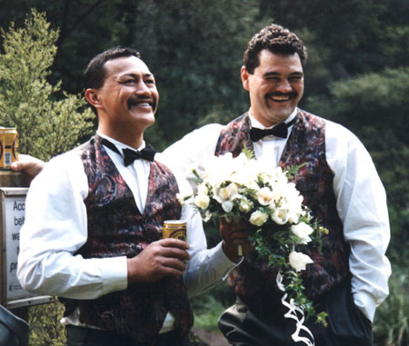 Men, Flowers ... Time for a Beer!!